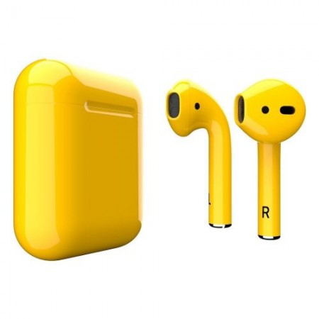 Apple AirPods 2 Yellow