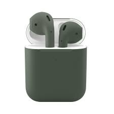 Apple AirPods 2 Midnight green