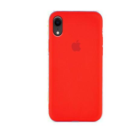 Силиконовый чехол красного цвета для iPhone X\XS\Xr|XS max