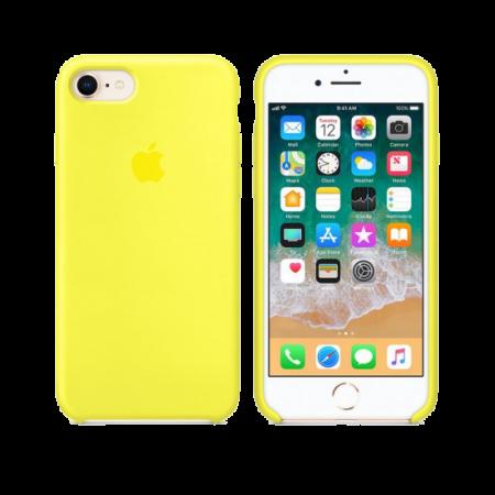 Силиконовый чехол цвета «холодный лимонад» для iPhone 7 / 8 (копия)