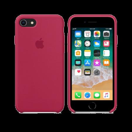 Силиконовый чехол цвета «красная роза» для iPhone 7 / 8 (копия)