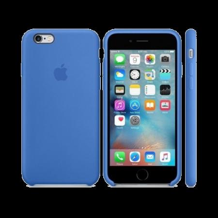 Силиконовый чехол цвета «синий деним» для iPhone 7 / 8 (копия)