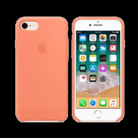Силиконовый чехол цвета «сочный персик» для iPhone 7 / 8 (копия)