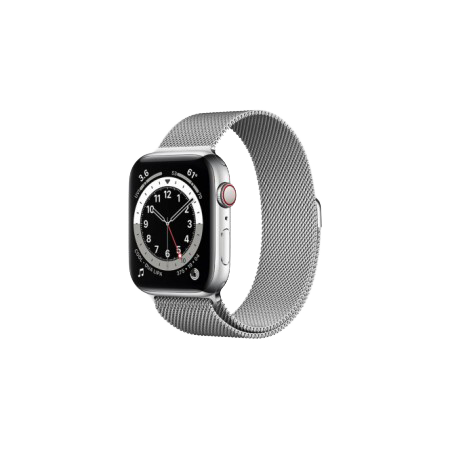 Apple Watch S6 40 mm Silver Stainless Steel Case with Milanese Loop Silver M02V3