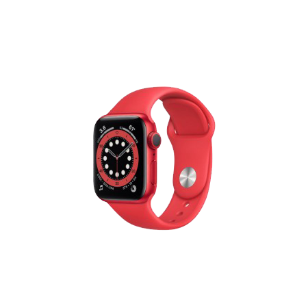 Apple Watch S6 40 mm (PRODUCT)RED Aluminum Case Sport Band (PRODUCT)RED M00A3