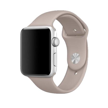Спортивный ремешок цвета «морская галька» для Apple Watch 38/40 мм (копия)