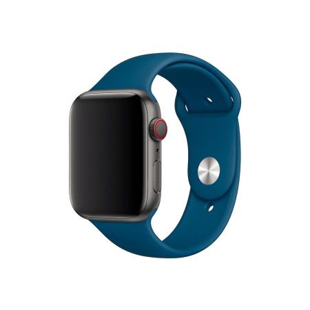Спортивный ремешок цвета «морской горизонт» для Apple Watch 38/40 мм (копия)