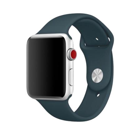 Спортивный ремешок темно-бирюзового цвета для Apple Watch 38/40 мм (копия)