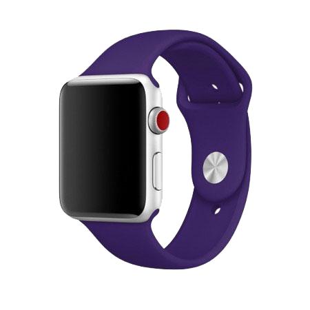 Спортивный ремешок цвета «ультрафиолет» для Apple Watch 38/40 мм (копия)