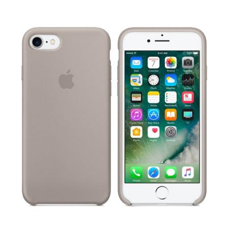 Силиконовый чехол цвета «темно-оливковый» для iPhone 7 / 8 (копия)
