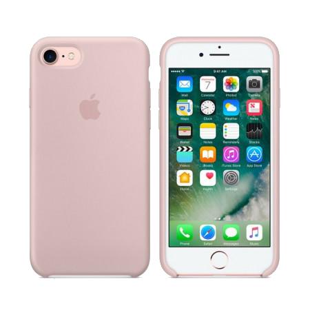 Силиконовый чехол цвета «розовый песок» для iPhone 7 / 8 (копия)